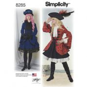 8285 Simplicity Pattern: Misses' Costume  from Lori Ann Costum,e Design (Pirate, Cosplay)